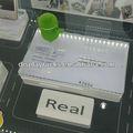 venda quente do telefone móvel desktop titular da exposição acrílica