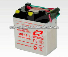 6N6 1B 1 Dry Charge Motorcycle Standard Battery