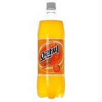 Carbonated drink OranC Orange(Plastic Bottle) 1500ml