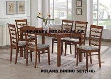 Poland Dining Set, Wooden dining set, Home Furniture