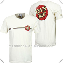 unisex custom printing combed cotton Vintage Dot t shirt