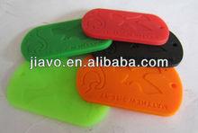 2013 Latest design rubber id dog tag