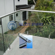 304 316 stainless steel terrace railing