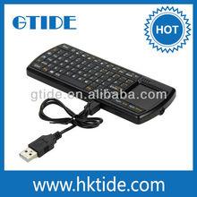 Gtide 2.4G RF mini wireless keyboard and mouse combo keyboard backlight