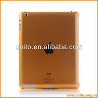 smart cover companion transparent back hard case for iPad 3