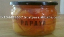 Canned Papaya Chunk in Pineapple Juice No Additives and Sugar