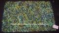 Multicolorido atraente algodão shaggy tapete