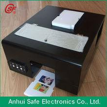 auto printer for printing inkjet pvc card flatbed