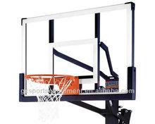 Outdoor Steel frame Tempered glass Backboard 42x72feet
