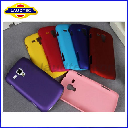 For Samsung Galaxy S Duos S7562 Glossy Hard Hybrid Shiny Ultra Thin Mobile Phone Case Cover