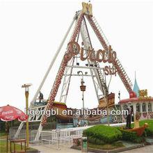 Amusement Rides Park Equipment Wooden Pirate Ship
