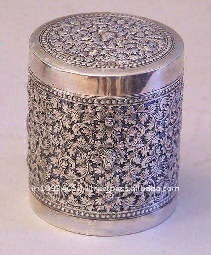 Silver Handicraft India Indian Handicraft-silver Box