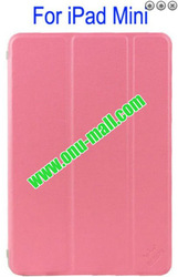 Refreshing Style Front leather cover for mini ipad