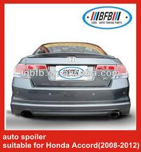 AUTO SPOILER REAR TRUNK BOOT LIP SPOILER FOR HONDA ACCORD 2008+