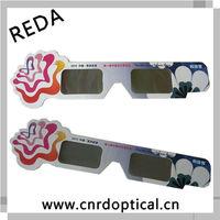 Promotional 3D handhelds glasses,2d to 3d converter polarized