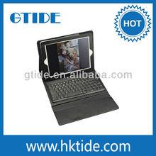 2013 latest keyboard mould Gtide KB553 9.7 purple leather case with keyboard for ipad 2