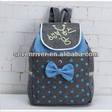Promotional High fashion manufactory backpack,portable shoulder bag forl students