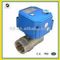 24vdc/ac válvula motorizada de controle com acionamento manual para o fogo- voo de aspersão de serviço, bobina do ventilador e, ciclo da água quente