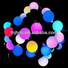 led big ball string lights