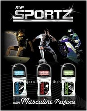 Remove Body Odor Male Sportz Roll-On Perfumes and Fragrances