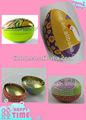 Tintop ovo forma lata série/recipiente de lata