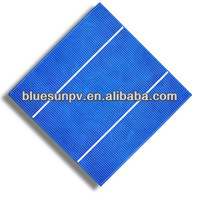 top quality most popular poly 6'' tabbed solar cells