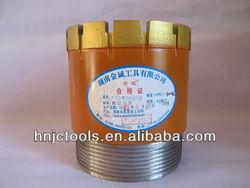 131mm diamond core drill bit