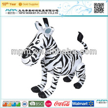 china cheap kids toy inflatable, inflatable zebra for baby