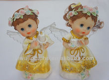 Devoting Prayer Angel Figurines,Led Light Angel,Angel with Candle. 291149S