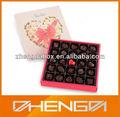 Alta qualidade de fábrica cantão custom made acetato de caixa de chocolate( zdcbs- a066)