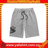 Fashionable embroider men camouflage shorts