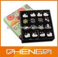 Di alta qualità della fabbrica guangzhou custom made scatola di cioccolato svizzero( zdcbs- a074)