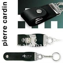 leather usb flash drives / usb flash disk usb 2.0 full memory