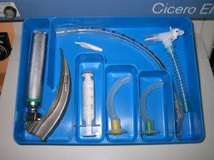 Anatech intubação bandeja