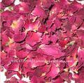 パキスタン自然で赤い乾燥されたバラの花びら