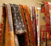 Vintage kantha quilts are made from vintage sari s pieced together and then stitched all over with running hand stitch all over