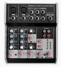 ME-602 Professional ultra low noise powerd 6-channels audio mixer