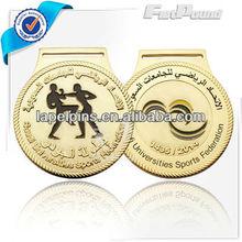 Promotional Gold Metal Martial Art,Karate Medal