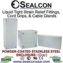 Powder Coated Steel Enclosures
