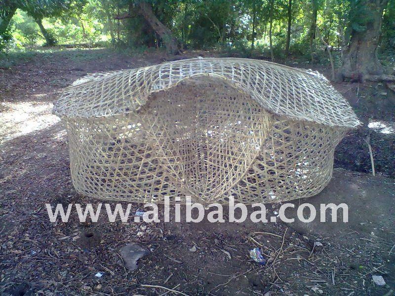 las trampas de la pesca para los peces anguila pulpo cangrejo de langosta