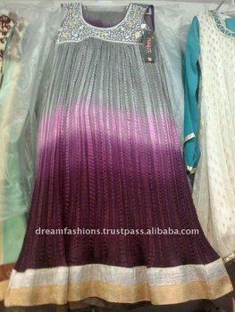 Pakistani New Style Linen Kids Girls Shalwar Kameez Dresses