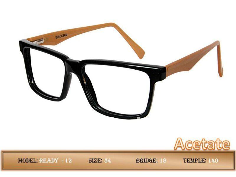 Acetato armações de óculos