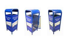 Shop Street Advertising Litter Bin
