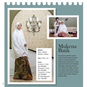 Mukena Cantik Shahnaz Batik