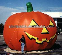 outdoor haloween giant inflatable pumpkin for sale