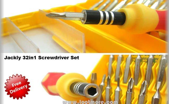 jackly 32in1 screwdriver set buy multi screwdriver set product on. Black Bedroom Furniture Sets. Home Design Ideas