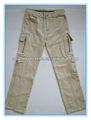 el hombre de bolsillos 12 larga pantalón de carga
