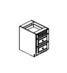 """3 Drawer Base Cabinets, 24"""" Depth"""