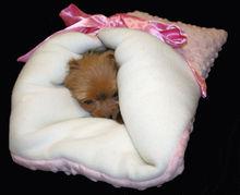 Pink Dog Cat Cuddle Snuggle Sak, Sack, Pouch, Bed