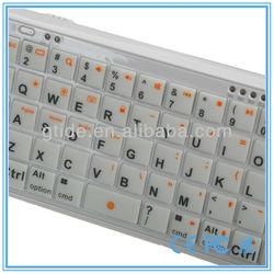 2013 new product Gtide PK-001 external mini wireless silica gel bluetooth keyboard